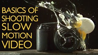 Basics of Shooting Slow Motion Video(The Slanted Lens is back at the YouTube Space shooting with their high-speed Phantom camera. We are going to take a look at the basics of slow motion video, ..., 2015-03-06T23:14:46.000Z)
