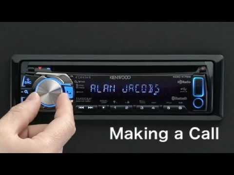 Kenwood Bluetooth Makingcall Kdc Bt32 Bt42 Bt47