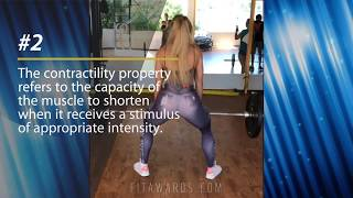 4 CHARACTERISTICS OF THE MUSCULAR TISSUE (Bonus Vivi Winkler Leg Workout)