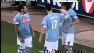 Napoli, i giocatori ballano dopo il gol. La strana danza