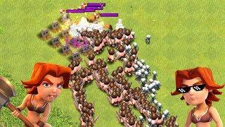 WALKÜREN gegen TAUSENDE TRUPPEN! ☆ Clash of Clans ☆ CoC