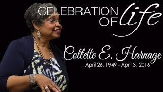 Collette Harnage Homegoing Celebration!