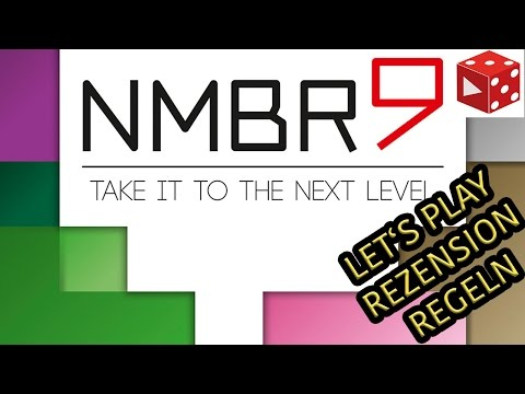 NMBR9 - Take it to the next Level (Abacusspiele 2017) - Let's Play, Regeln, Rezension