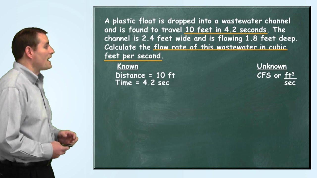 Problem Solved Flow Rate Problem