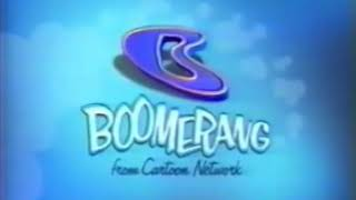 (Extremely Rare) Boomerang (Block): Dastardly & Muttley In Their Flying Machines Bumpers (2000)