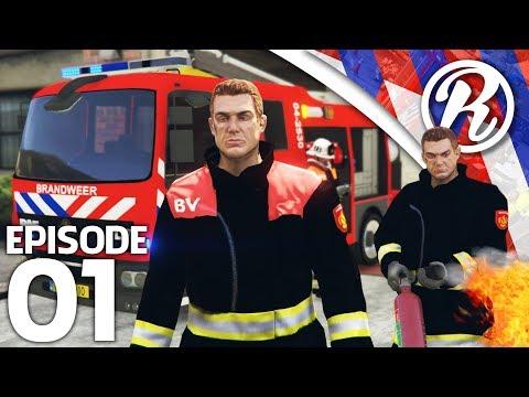 [GTA5] BRANDEN BLUSSEN MET DE BRANDWEER!! - Royalistiq   Multiplayer Brandweer Mod #1