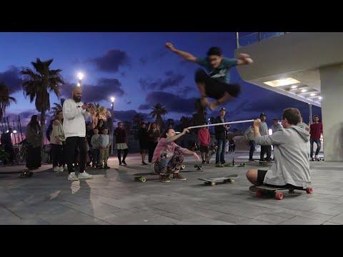 DaSilva Boards Tel Aviv skateboard free challenge 17.3.2018