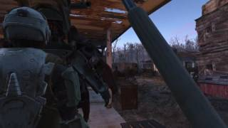 Fallout 4 Power Armour - Vault Boy Headlamp