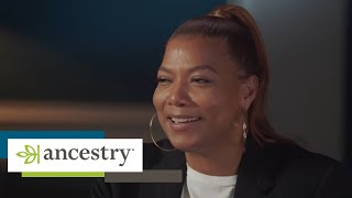 Queen Latifah Reacts to Family History in Finding Your Roots   Ancestry