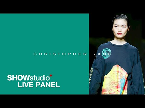 Christopher Kane: Showmanship, Body Diversity And Notions Of Taste - S/S 20 Live Panel Discussion