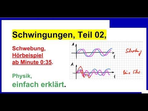 Schwingungen, Physik, Teil 2, Schwebung, Hörbeispiel