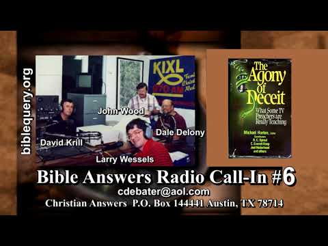Bible Answers Radio #6: Fake Christians Preaching Fake Prosperity Gospels that will Damn Your Soul