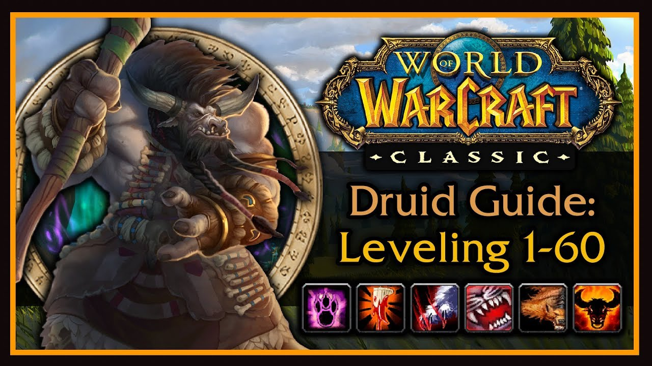 Classic WoW: Druid Leveling Guide (Talents, Form Rotations, Addons, Tips & Tricks)