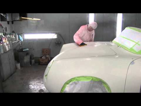 Paint and Body Work Offered at Gassman Automotive Products – Re-Spray/Buff Porsche 365