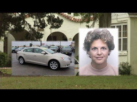 Killed teacher's car found
