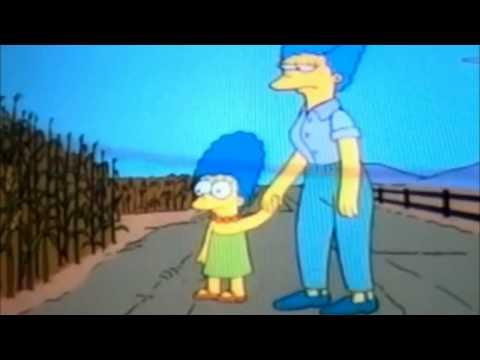 Y este es un campo de maíz nena - Los simpsons