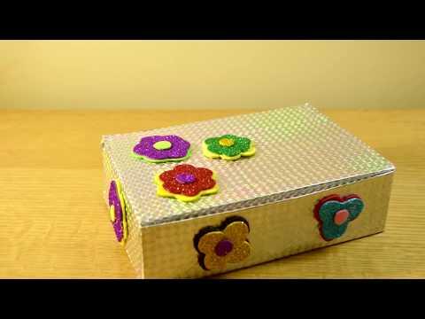 DIY Shoe Box ! Storage Idea Recycling