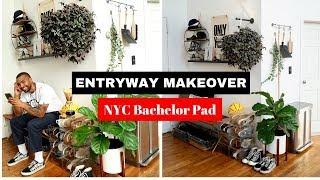 Entryway Decor Ideas! NYC Loft Apartment, Bachelor Pad