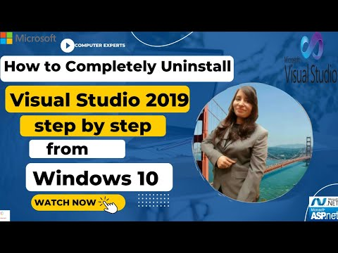 🔥 How to Completely Uninstall Visual Studio 2019 🔥 Step by Step from Window 10?