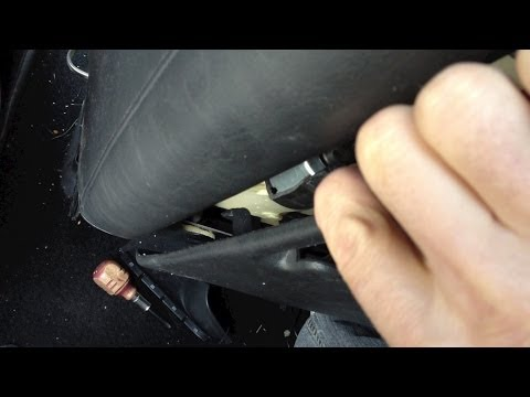 How to take apart repair a drivers car seat motor - Chrysler Pacifica