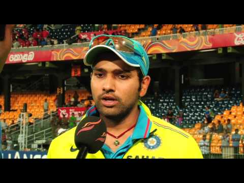 INTERVIEW - ROHIT SHARMA