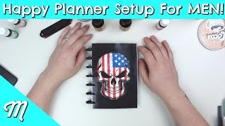 Video Happy Planner Setup For Men! | MY Husband Takes OVER My Channel! download MP3, 3GP, MP4, WEBM, AVI, FLV Agustus 2018
