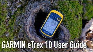 GARMIN eTrex 10 GPS User Guide screenshot 3