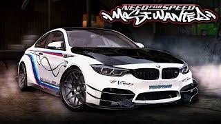 NFS Most Wanted | BMW M4 Varis Mod Gameplay [1440p60]