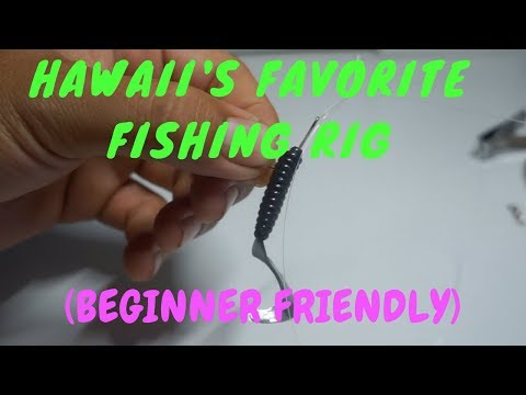 How To Set-Up Hawaii's Favorite Fishing Rig! (Whipping/Casting)