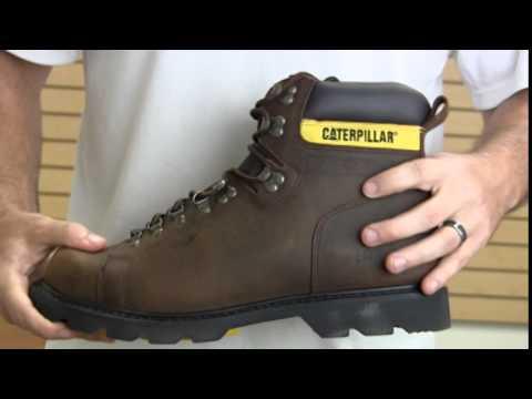 CAT P74142 Alaska Work Boot - YouTube