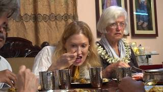 American Tourists Tasting Real Indian Food for the First Time