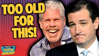 ... - today at double toasted we have a crazy trending news story about ted cruz vs ron perlma...