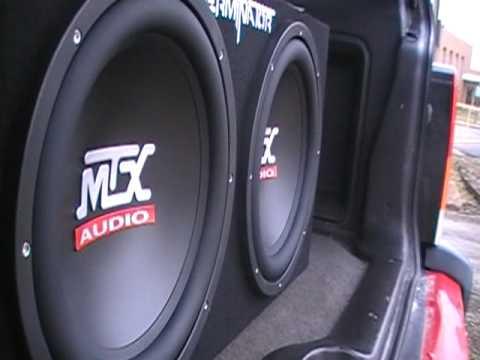 MTX Terminators 2 12 500 watt amp