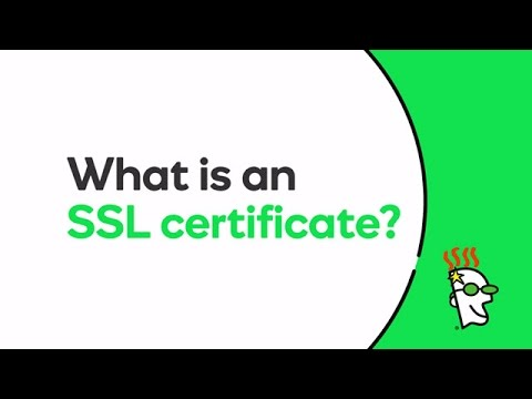 What is an SSL certificate? | GoDaddy - YouTube