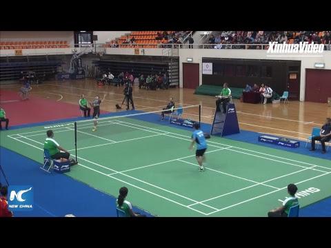 LIVE: Grassroots vs elite: Amateur badminton players take on top professionals