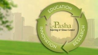 Pasha Snoring & Sinus: Welcome Video