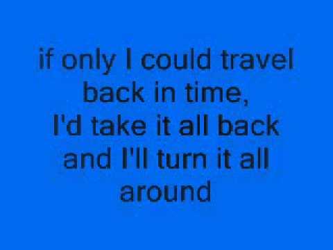 no more time machine lyrics