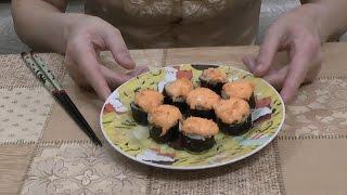 Рецепт Суши и Роллов в домашних условиях! Часть 2. Запеченные Роллы!
