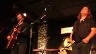Never Had (live public debut), Alan Doyle & Oscar Isaac, City Winery, New York City