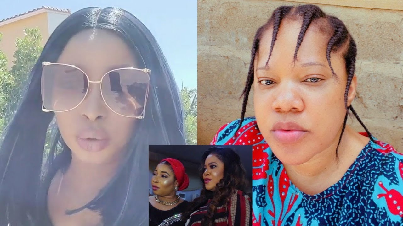 Download Toyin Abraham And Liz Anjorin Finally Reconcile Since 2019…