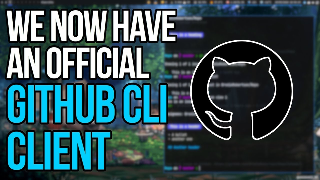 Download GitHub Now Has An Official Beta CLI Client!!