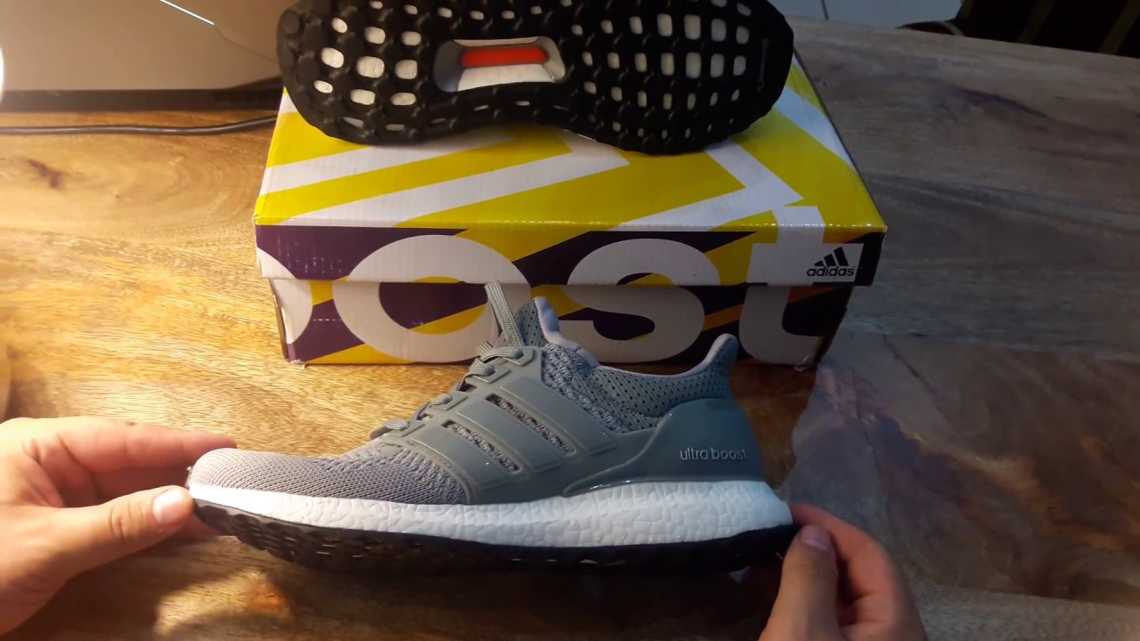a15c050c1 Ultra boost Gris - YouTube