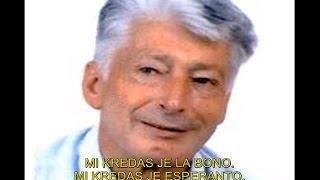 Mi Kredas Je Esperanto de Claude Piron