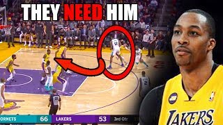 The REAL Reason Why Dwight Howard HELPS LeBron James & The Lakers (Ft. NBA Dunks, Defense, & Blocks)