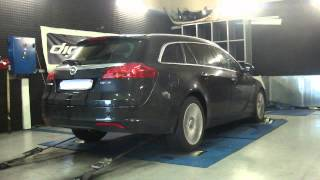 Opel Insignia cdti 160cv @ 199cv reprogrammation moteur dyno digiservices
