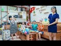 Kids Go To School | Sister Traveling Buy Gifts And Ice Cream Cakes For Chuns And Friends
