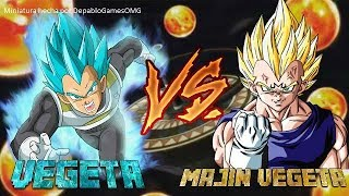 Vegeta VS Majin Vegeta-Dragon Ball Fierce Fighting 2.8(VUELVO A YOUTUBE!!!)
