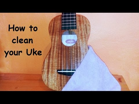 How to clean your Uke - Ukulele Tutorial