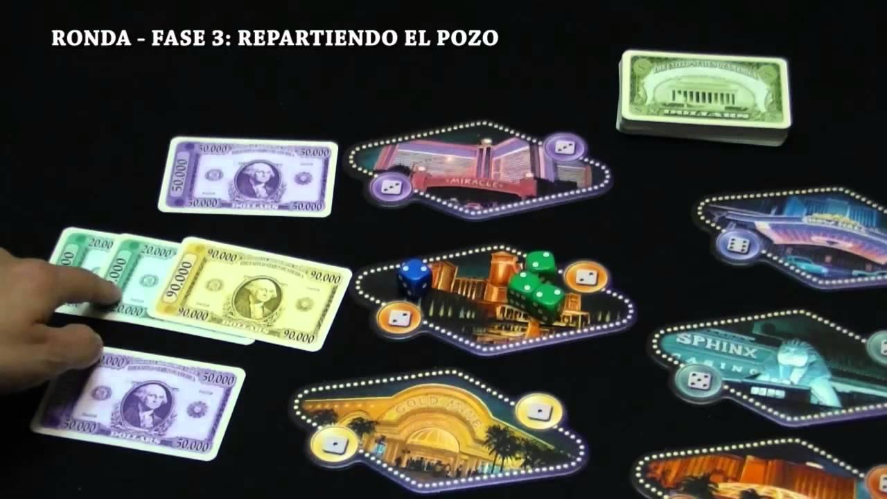 Las Vegas Juego De Mesa Boardgame Youtube