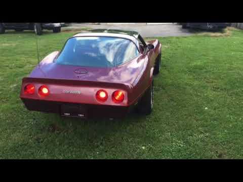 1981 bg Ky corvette for sale